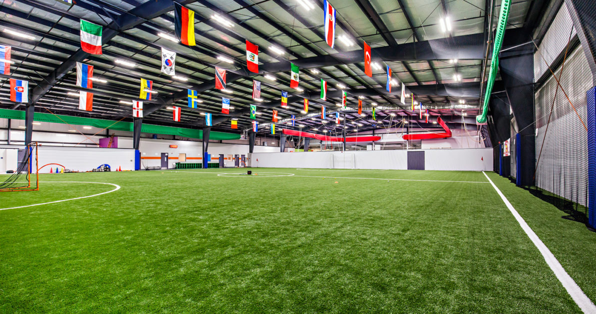 professional turf field for rent Schafer Sports Center